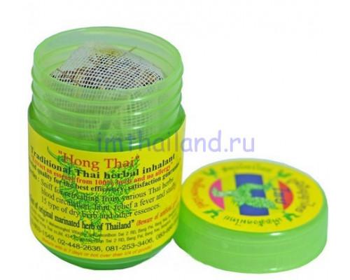 Тайский ингалятор Hong Thai в баночке 15 гр
