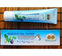Натуральная зубная паста с мангостином Абхай 100 гр