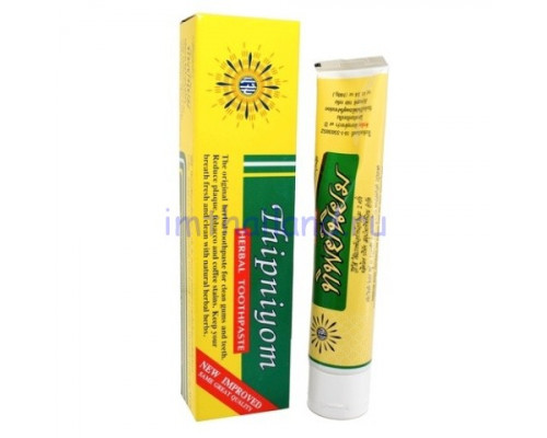 Тайская травяная зубная паста Thipniyom 160 гр