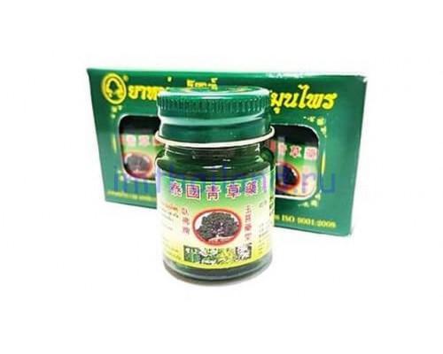 Травяной зеленый бальзам Thai Herbal Wax 3 шт по 50 гр