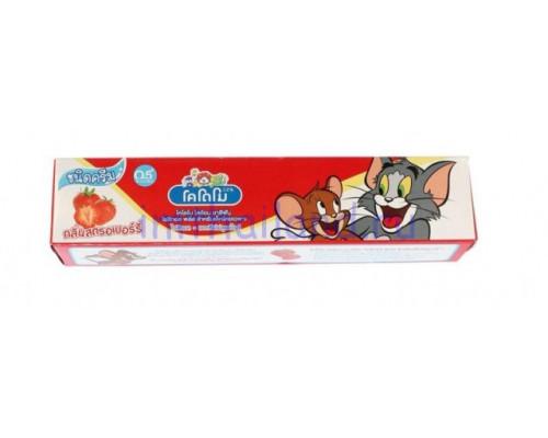 Тайская зубная паста для детей Kodomo Lion 40 гр