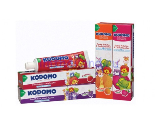 Детская тайская зубная паста Kodomo 40 гр