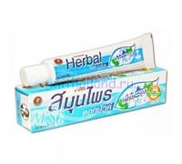Тайская зубная паста Twin Lotus «Свежесть и Прохлада» 150 гр