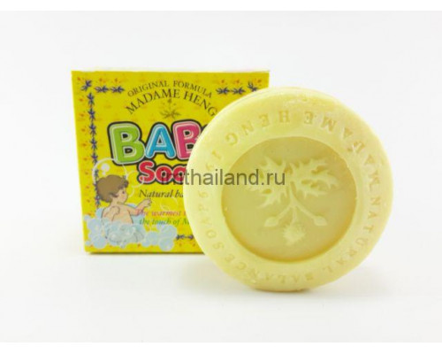 100% натуральное детское мыло Madame Heng, 150 гр.