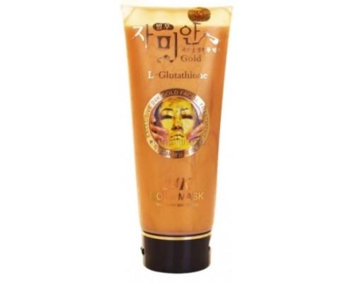 Золотая маска-пленка для лица 24 карата плюс глутатион 220мл